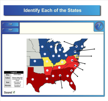 American History Smartboard Notebook Review Activities - 100 + Slides!