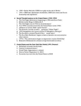 American History Standardized Testing Study Guide