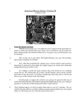 American History Stories - Informational Text Test Prep