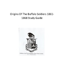 American History Study Guide: Origins Of The Buffalo Soldiers