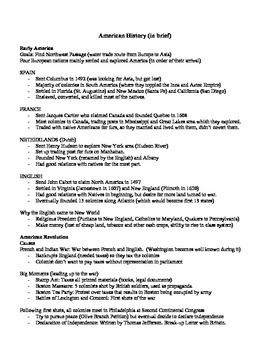 Us history study guide teaching resources teachers pay teachers american history study guide us to 1877 publicscrutiny Images