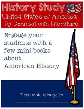 American History/Symbols Bundle Mini-Book BW and Color