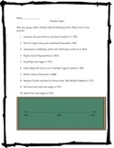 American History Timeline Project 1492-1756
