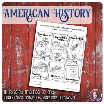 American Revolution Illustrated Timelines