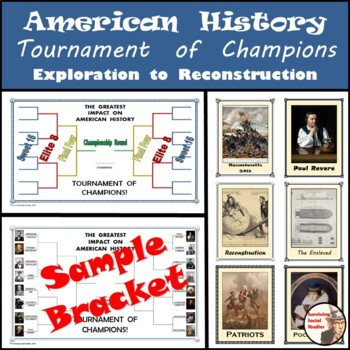 American History End of the Year Activity - Tournament of Champions!
