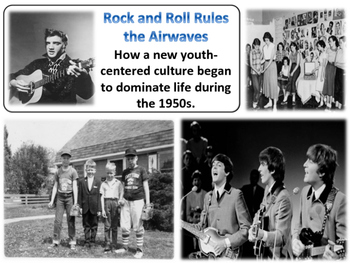 Rock & Roll and the Baby Boom - American History - Turning Points