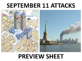 The September 11th Attacks & War on Terror Unit