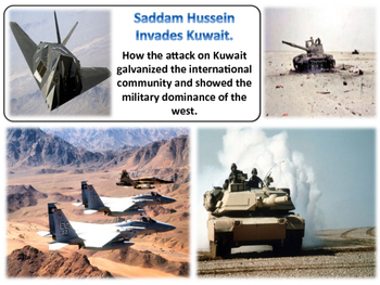 The First Gulf War Unit - American History - Turning Points
