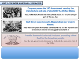 The New Deal Unit - American History - Turning Points