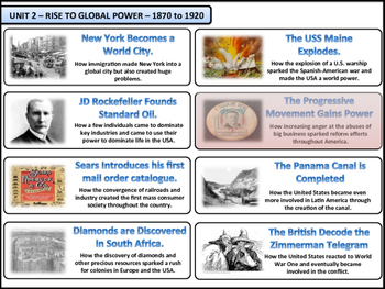 The Progressive Era Unit - American History - Turning Points