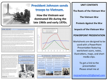 The Vietnam War Unit - American History - Turning Points