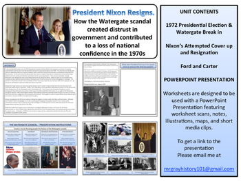 The Watergate Scandal Unit - American History - Turning Points