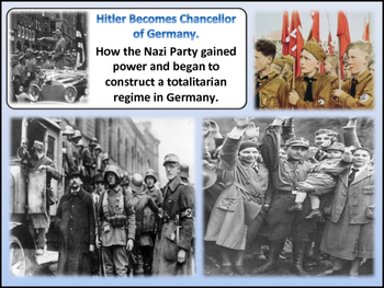 The Rise of Nazi Germany Unit - World War Two - Turning Points