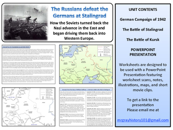 The Battle of Stalingrad Unit - Turning Points