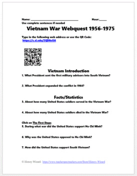 American History Webquest Super Pack