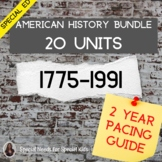 American History YEARLONG BUNDLE for Special Education