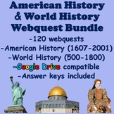 American History and World History Resource MEGA BUNDLE