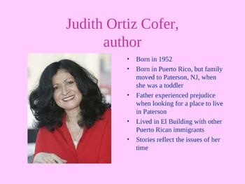 """American History"" by Judith Ortiz Cofer PowerPoint"