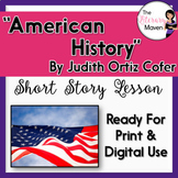 American History by Judith Ortiz Cofer with Adapted Text -