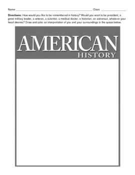 AMERICAN HISTORY - magazine cover