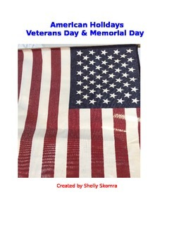 American Holidays Collection - Veterans Day & Memorial Day