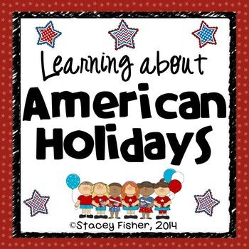 American Holidays-MLK Jr. Day, Presidents Day, Memorial Da