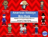 American Holidays Mini Book - SOL 2.5