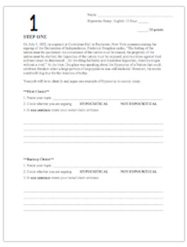 American Hypocrisy Essay - Writing Process Steps - Common