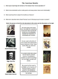 American Identity and Culture of the 1800's