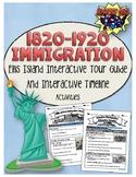 American Immigration 1820-1920 Online Activities