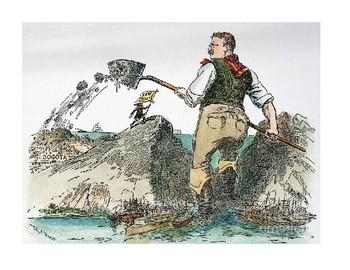 American Imperialism Cartoons for Gallery Walk