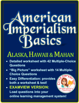 American Imperialism Examview Questions -- Set 1: Motives, Alaska, Hawaii, Mahan
