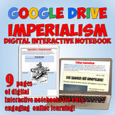 American Imperialism Google Drive Interactive Notebook