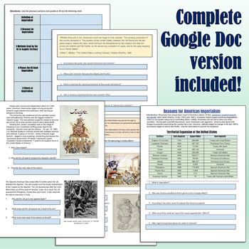 American Imperialism Packet with Primary Sources & Readings