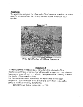 American Imperialism Part 3/3- unit and resources