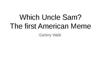 American Imperialism, Spanish American War Gallery Walk - Which Uncle Sam?