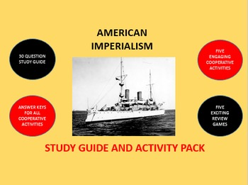 American Imperialism: Study Guide and Activity Pack