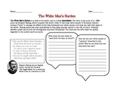 American Imperialism- The White Man's Burden