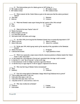 American Imperialism Worksheets -- Set 1: Motives, Alaska, Hawaii, Mahan