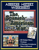 American Imperialism Worksheets -- Set 2: The Spanish American War