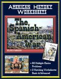 American Imperialism Worksheets -- Set 2: The Spanish American War
