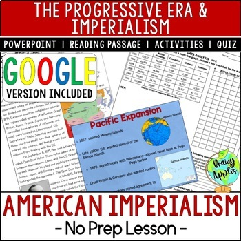 American Imperialism, the Progressive Era