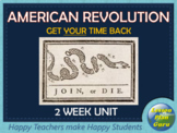 American Revolution COMPLETE Lesson Plan Unit | DISTANCE LEARNING | Google Apps