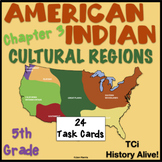 American Indian Cultural Regions Chapter 3 Task Cards - History Alive!  TCi