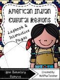 American Indian Cultural Regions Lapbook & Interactive Notebook