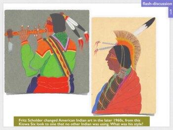 American Indian Art SHOW + TEST = 258 Slides Tribal Native