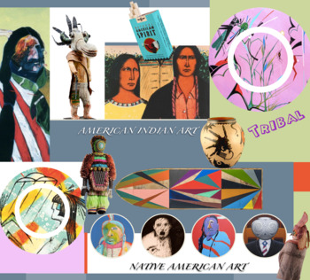 American Indian - Native American - ART - FREE POSTER