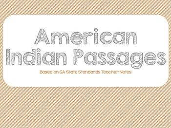 American Indian Region Passages