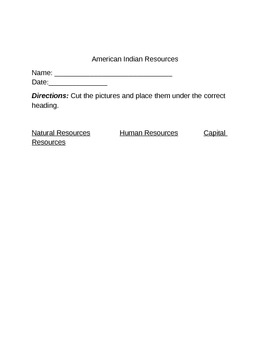 American Indian Resources