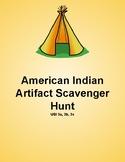 American Indian Scavenger Hunt